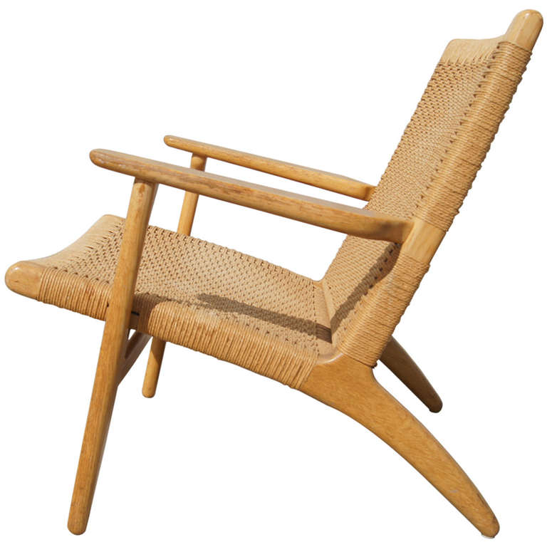 Ch 25 Armchair By Hans Wegner At 1stdibs