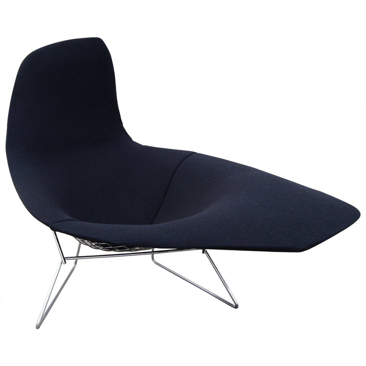 asymmetric lounge by harry bertoia for knoll at 1stdibs. Black Bedroom Furniture Sets. Home Design Ideas