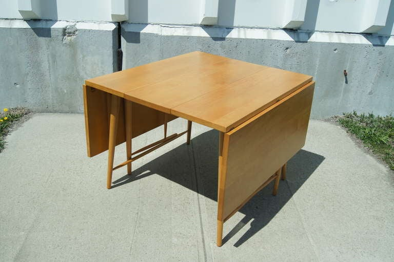 Drop Leaf Dining Table By Paul Mccobb At 1stdibs