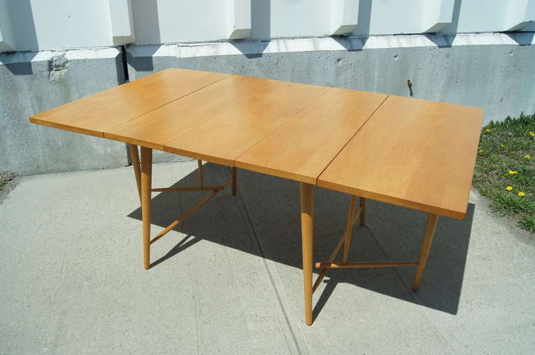 Drop Leaf Dining Table By Paul McCobb 3