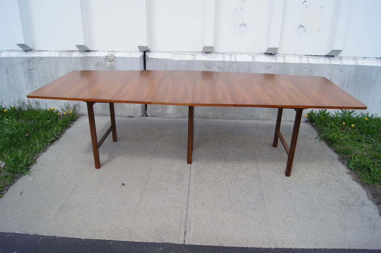 Drop Leaf Extension Dining Table By