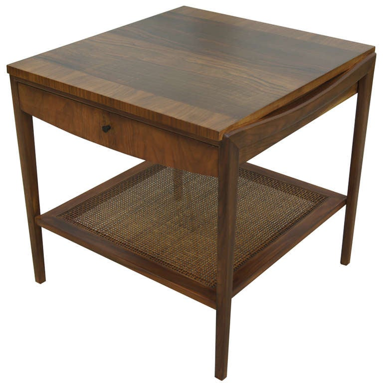 John widdicomb end table 01 for Walnut side table