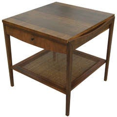 Walnut End Table by John Widdicomb