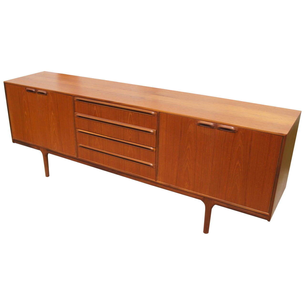 Teak Sideboard/Dry Bar by A. H. McIntosh and Co. at 1stdibs
