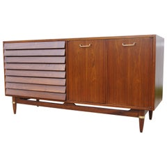 Walnut Sideboard by Merton Gershun for American of Martinsville