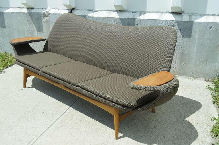 Model 500 Or Silhouette Sofa Designed By Rastad And Relling For Dokka Furniture At 1stdibs
