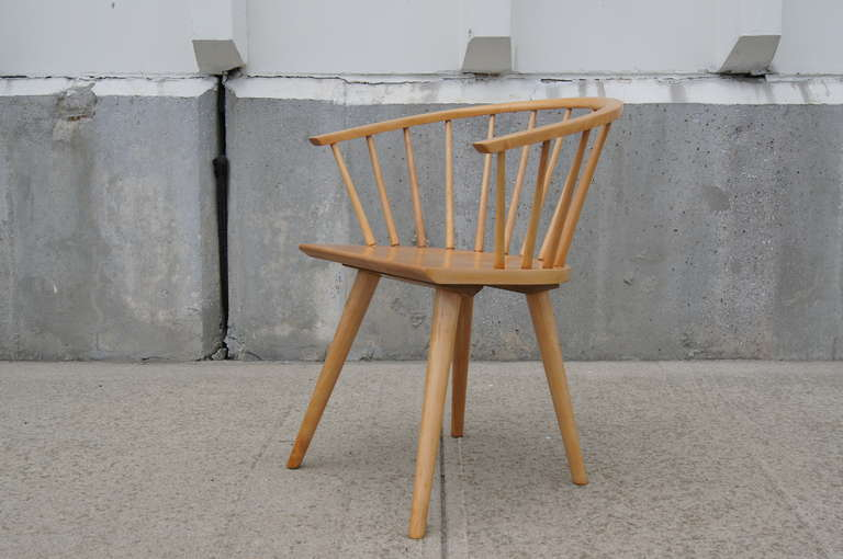 Dining Chair By Russel Wright For Conant Ball 2