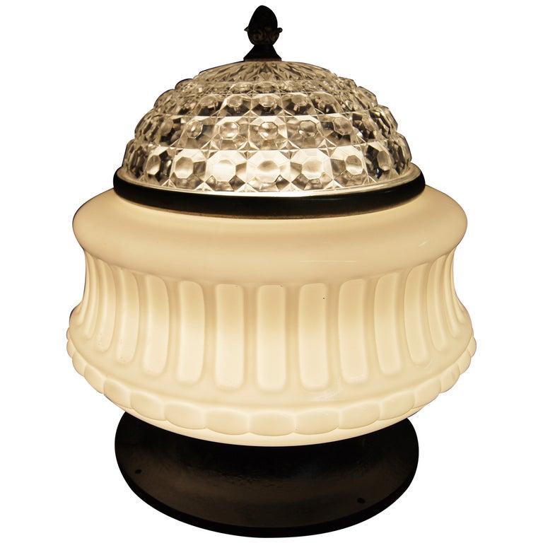 Art Deco Italian Ceiling Lamp For Sale