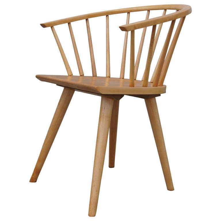 Awesome Dining Chair By Russel Wright For Conant Ball For Sale At 1stdibs
