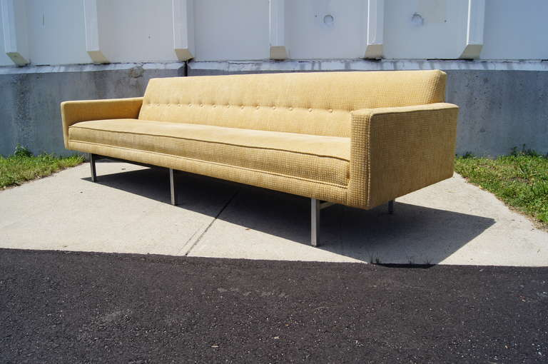 Extra Long Sofa Model 0693 by George Nelson at 1stdibs