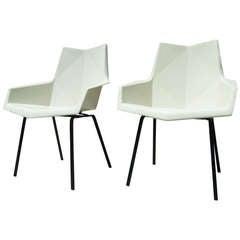 Pair of Fiberglass Chairs by Paul McCobb