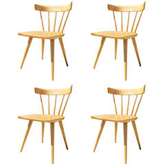Set of Four Planner Group Dining Chairs by Paul McCobb for Winchendon Furniture