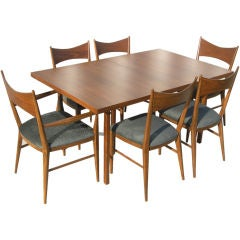 Dining Table and 6 Chairs by Paul McCobb for the Calvin Group
