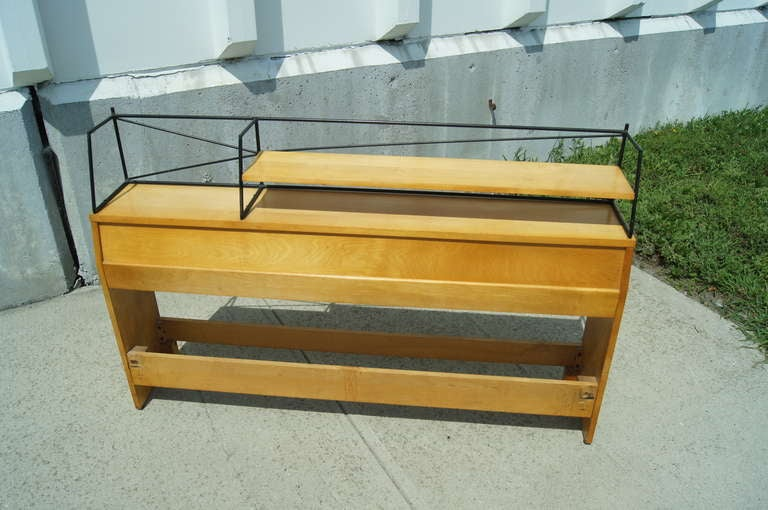 20th Century Full-Size Planner Group Headboard by Paul McCobb for Winchendon For Sale