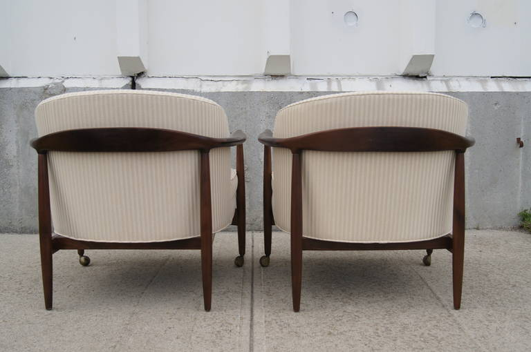 Pair of Armchairs by Ib Kofod-Larsen 1
