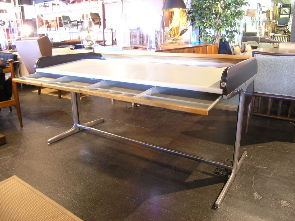 Action Office Roll Top Desk by George Nelson for Herman Miller 4