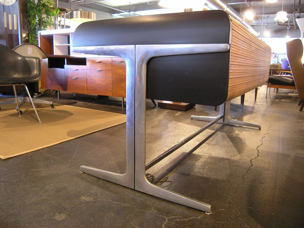 Action Office Roll Top Desk by George Nelson for Herman Miller 6
