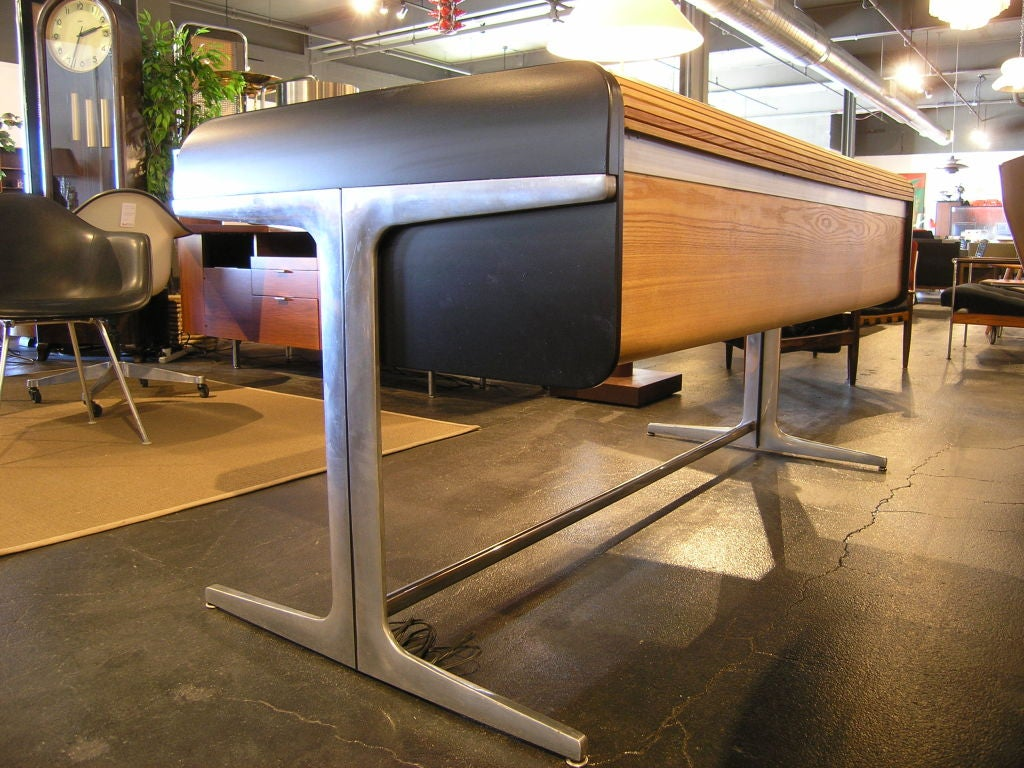Action Office Roll Top Desk by George Nelson for Herman Miller 2