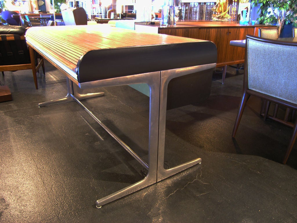 Action Office Roll Top Desk by George Nelson for Herman Miller 7