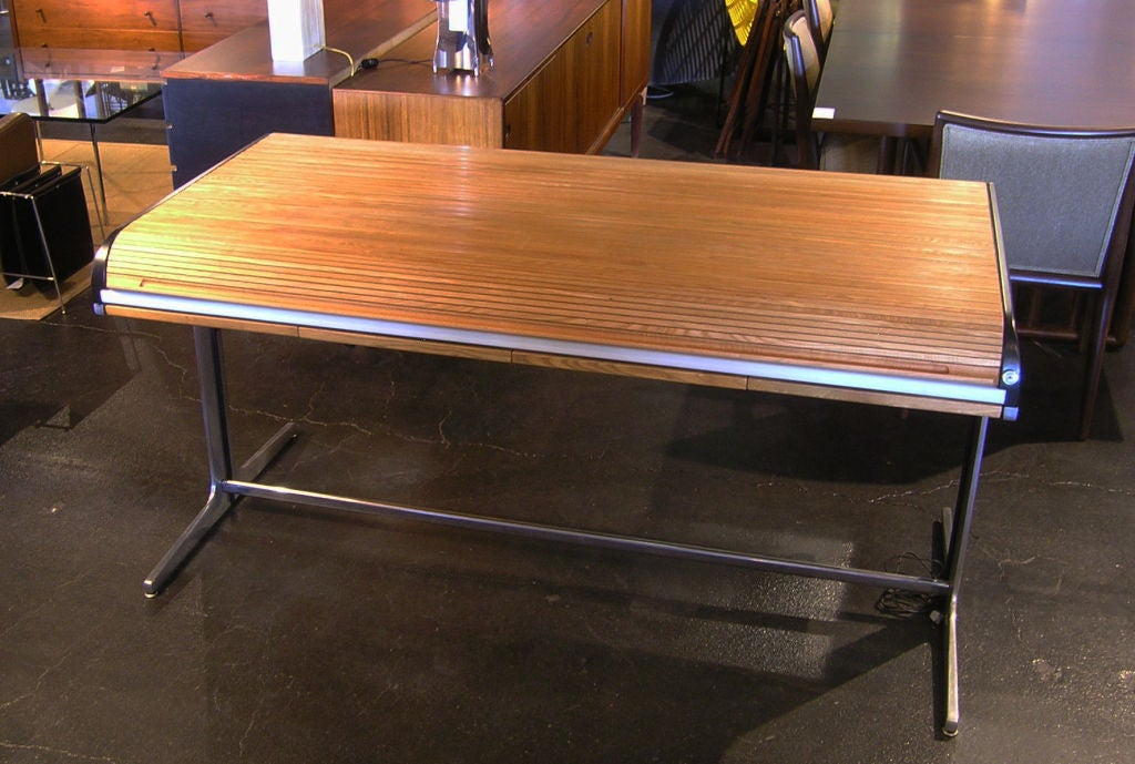 Action Office Roll Top Desk by George Nelson for Herman Miller 8