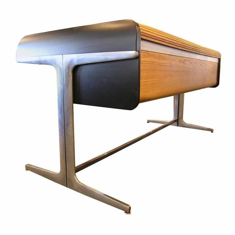 Action Office Roll Top Desk by George Nelson for Herman Miller at ...
