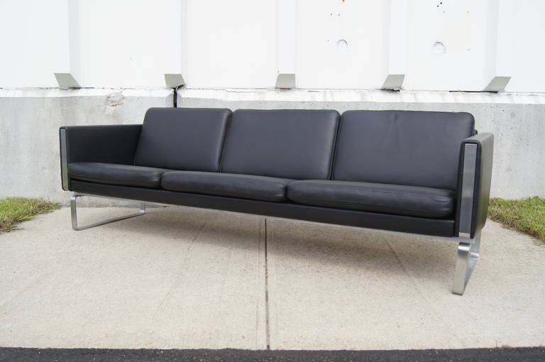 Designed By Hans Wegner In The Early 1970s This Striking And Timeless Three Seater