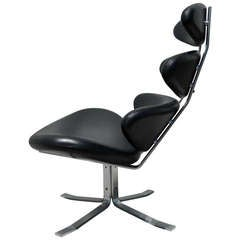 Corona Lounge Chair by Poul Volther for Erik Jorgensen