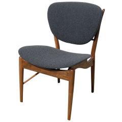 Walnut Side Chair, Model NV-51 by Finn Juhl for Baker