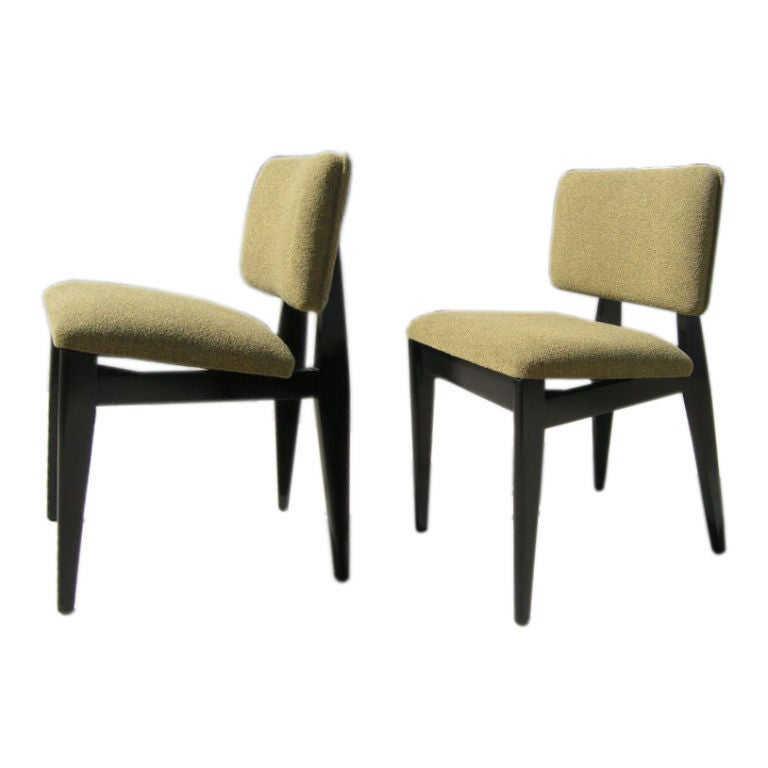 Ebonized Birch Side Chair by George Nelson for Herman Miller