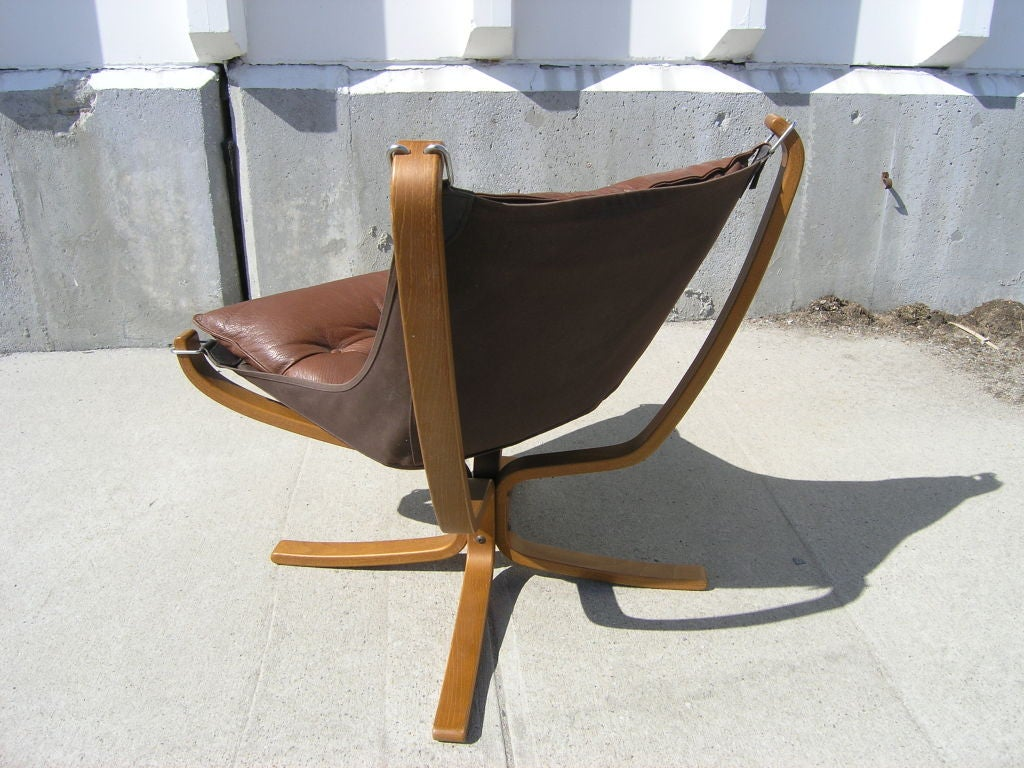 Falcon Chair by Sigurd Ressel for Vatne Mobler of Norway at 1stdibs
