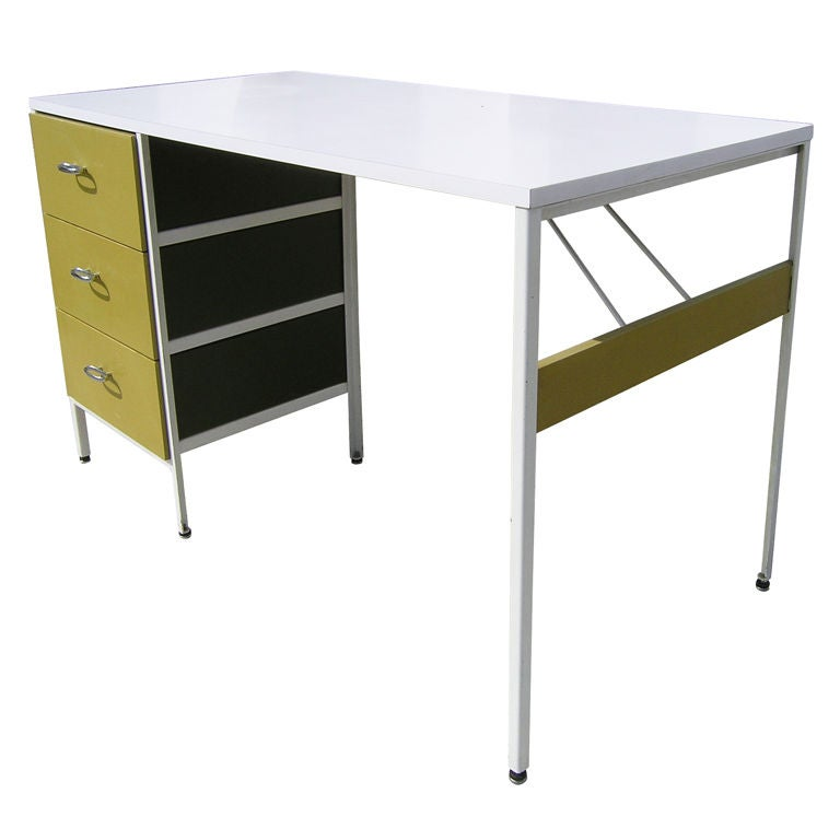 Steelframe Desk By George Nelson For Herman Miller At 1stdibs