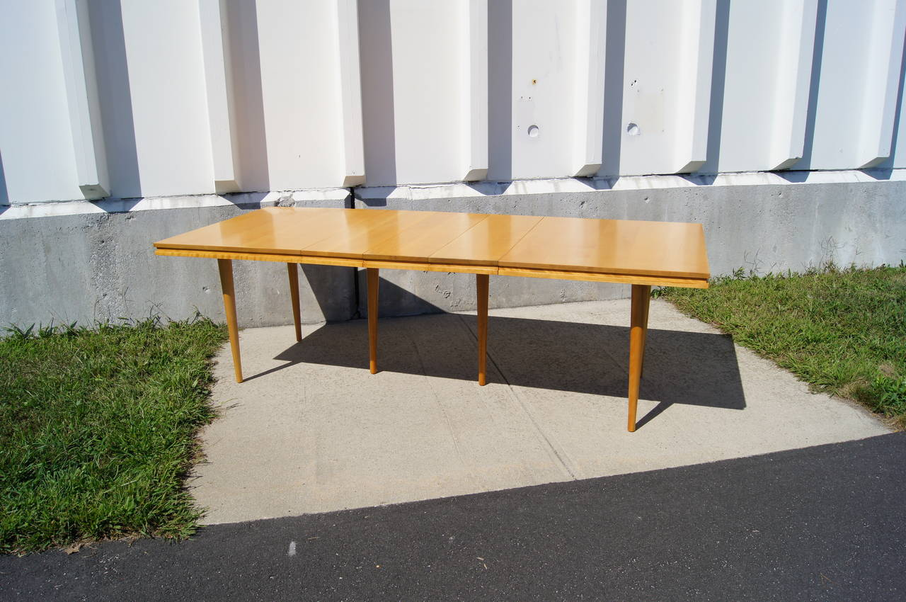 Maple Extension Table By Russel Wright For Conant Ball At