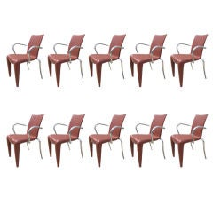 Set of Ten Louis 20 Armchairs by Philippe Starck for Vitra