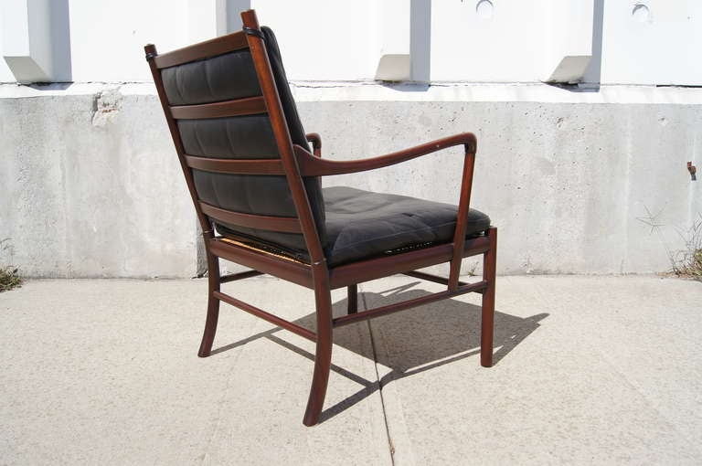 Colonial Armchair By Ole Wanscher At 1stdibs