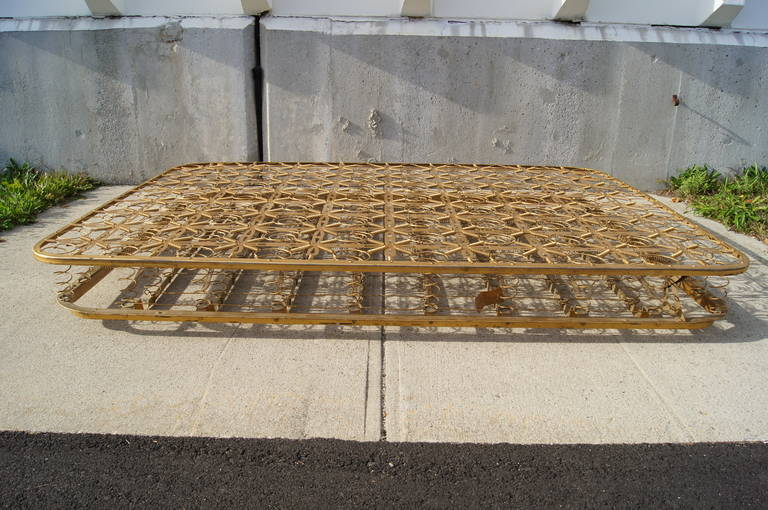 20th Century Vintage Metal Coil Bed Spring For Sale