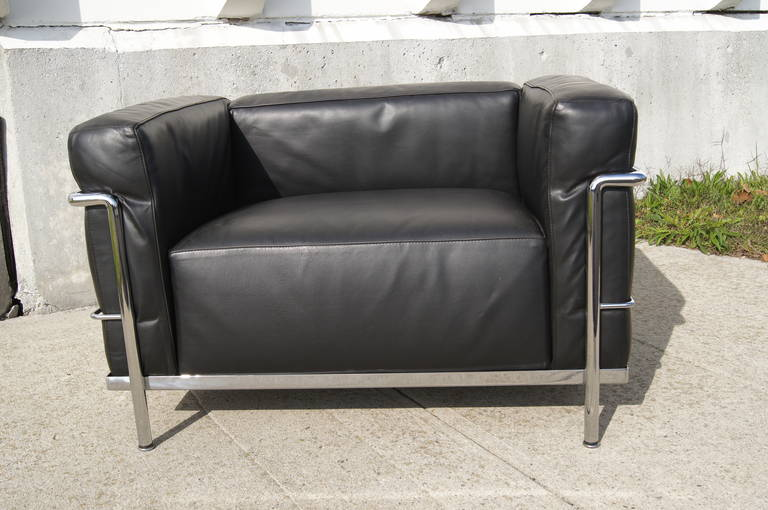 20th Century LC3 Grand Confort Lounge Chair by Le Corbusier
