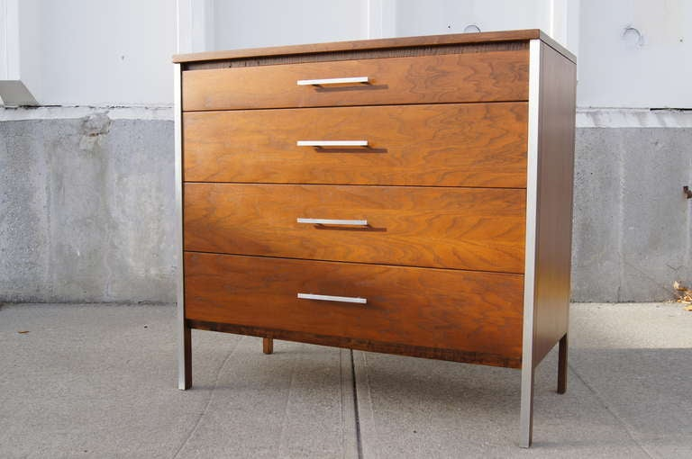 American Walnut Dresser by Paul McCobb for Calvin For Sale