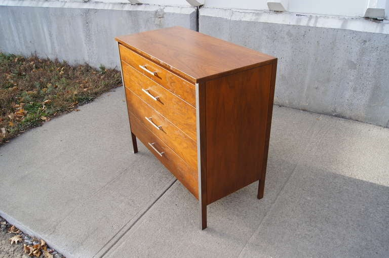 Walnut Dresser by Paul McCobb for Calvin In Excellent Condition For Sale In Boston, MA