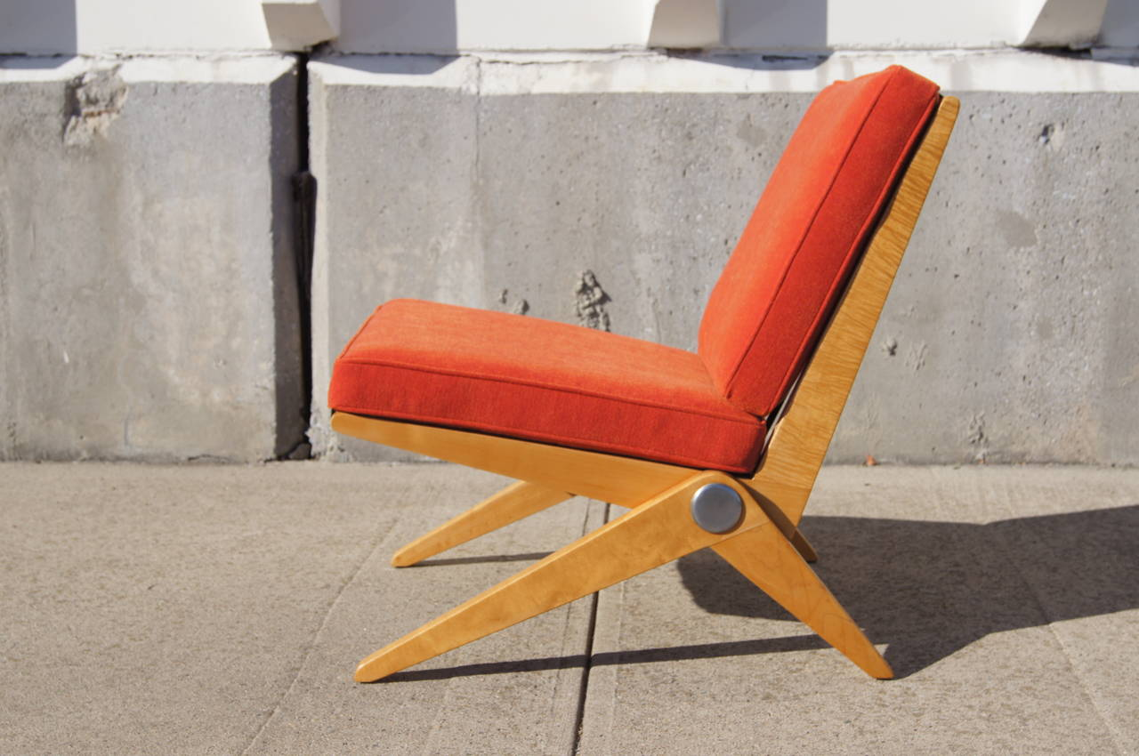 Jeanneret scissor chair knoll 100 images scissor chair by jeanneret for knoll inc knoll - Knoll inc chairs ...