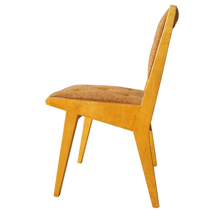 Maple side chairs by jens risom for knoll for sale at 1stdibs - Jens risom side chair ...