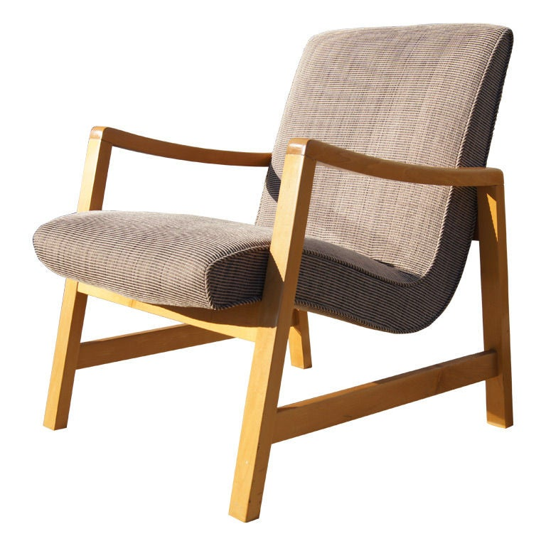 early arm chair by jens risom for knoll at 1stdibs
