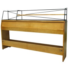 Full-Size Maple Planner Group Bookcase Headboard by Paul McCobb for Winchendon