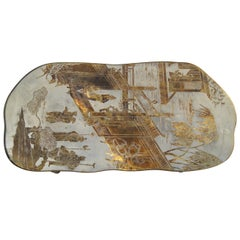 Chinoiserie Bronze Coffee Table by Philip & Kelvin LaVerne