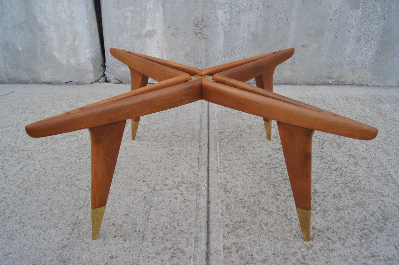 Italian Coffee Table By Gio Ponti For Giordano Chiesa At 1stdibs