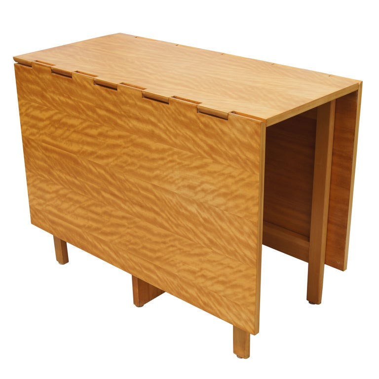 Gateleg dining table by george nelson for herman miller at for Gateleg dining table