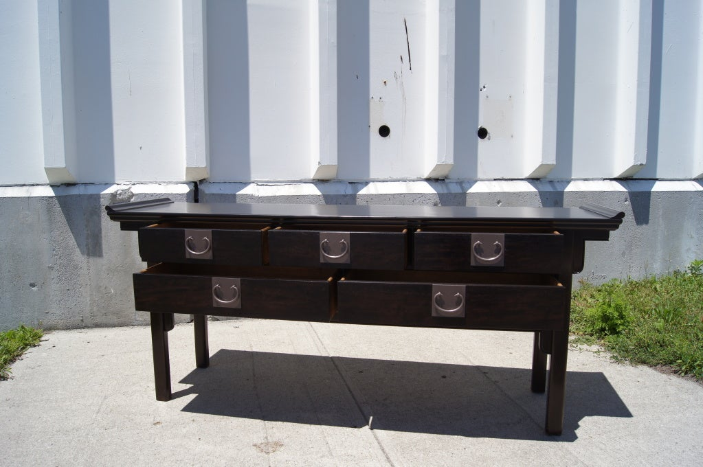 asian influenced furniture. asianinfluenced fivedrawer console table by century furniture of disctinction 3 asian influenced