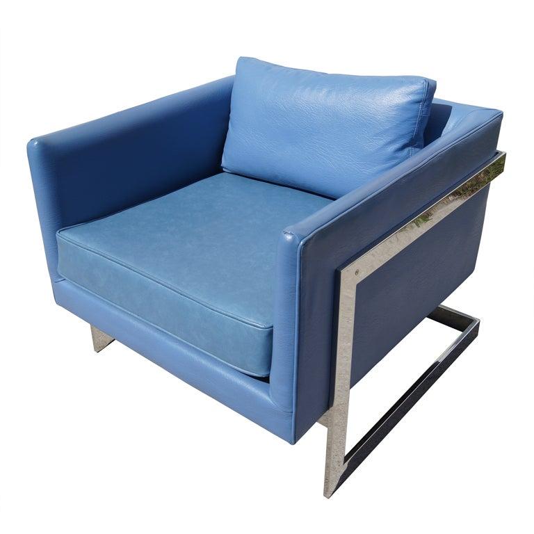 Club Chair by Milo Baughman for Thayer Coggin 1