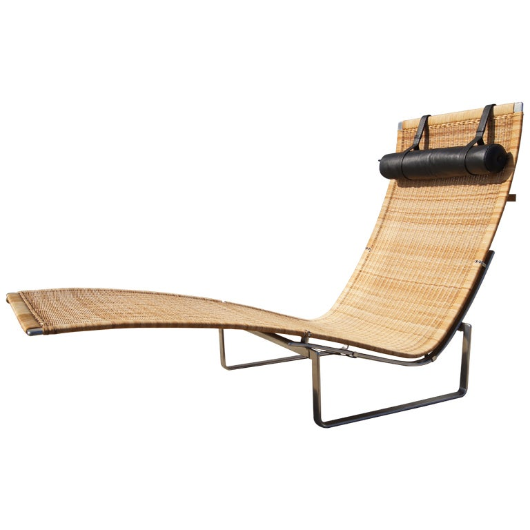 Hansen 24 Chaise Pk Poul Fritz Kjaerholm By Longue For 8wXNnP0OkZ