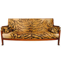 Egyptian Revival Sofa