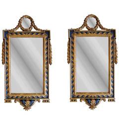 Pair of Italian Neoclassical Mirrors